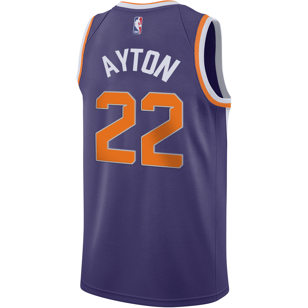 NBA Phoenix Suns Deandre Ayton Nike Youth Swingman Jersey Icon Edition -  Purple c18db2a08