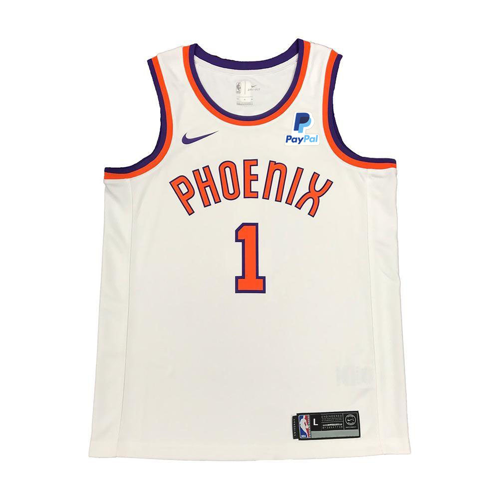 NBA Phoenix Suns Devin Booker Youth Nike Swingman HWC Edition - White –  Shop.Suns.com c840212f9