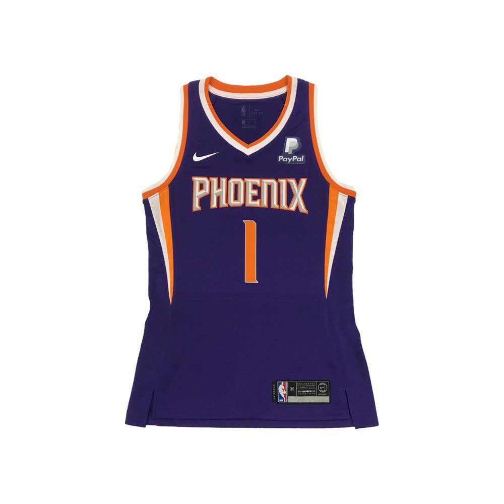 NBA Phoenix Suns Women s Devin Booker Nike Swingman Jersey Icon Editio –  Shop.Suns.com 0e7290f99