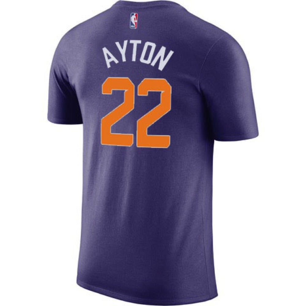 206333c44 NBA Phoenix Suns Deandre Ayton Name and Number Nike Tee