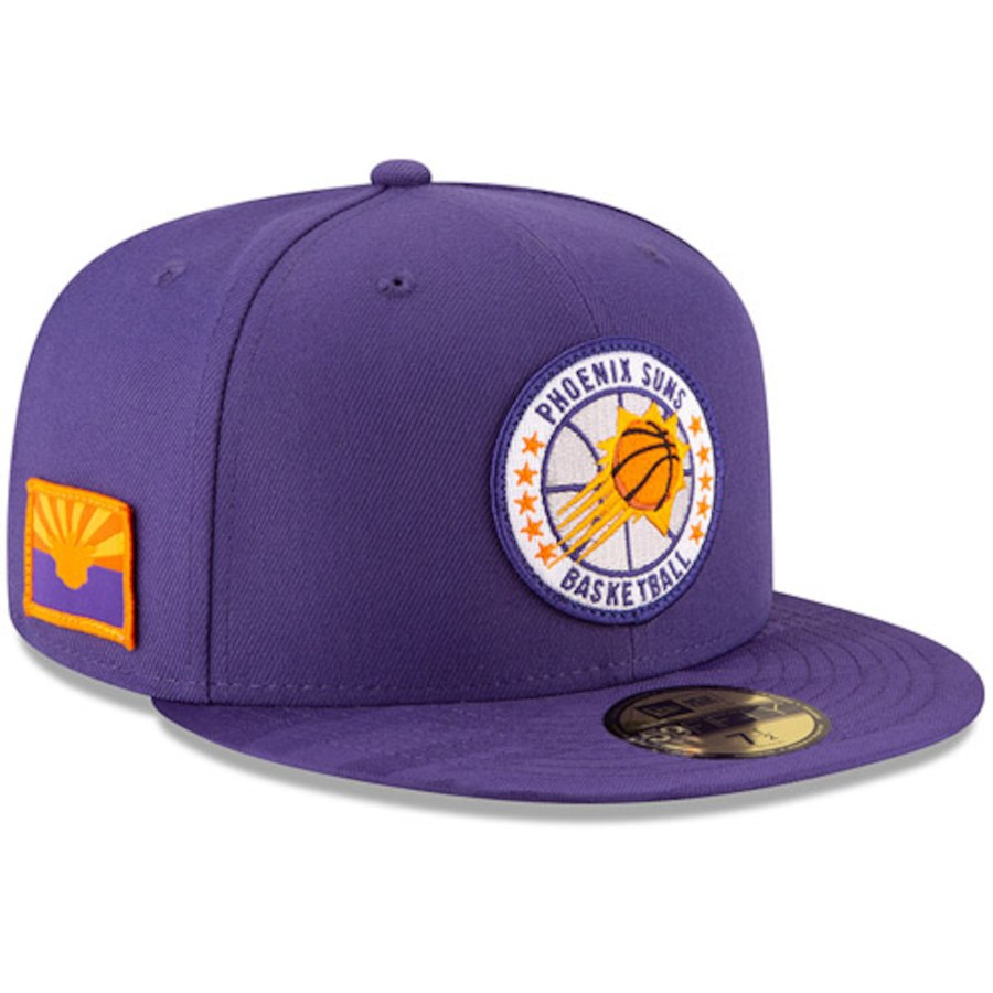 detailed pictures b0fc4 5547a NBA Phoenix Suns New Era 18 Tip Off 59FIFTY