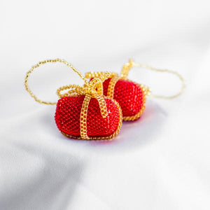 Beaded Gift Ornament