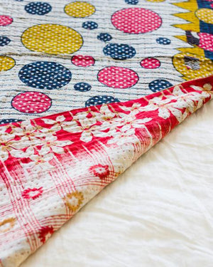 Kantha Throw - Rodela