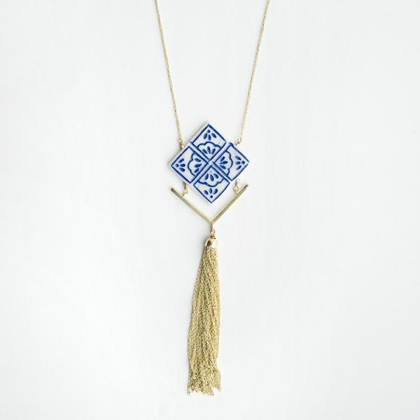 Mallorca Tile Necklace