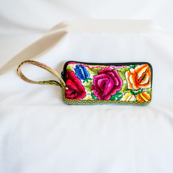 Recycled Wristlet Wallet