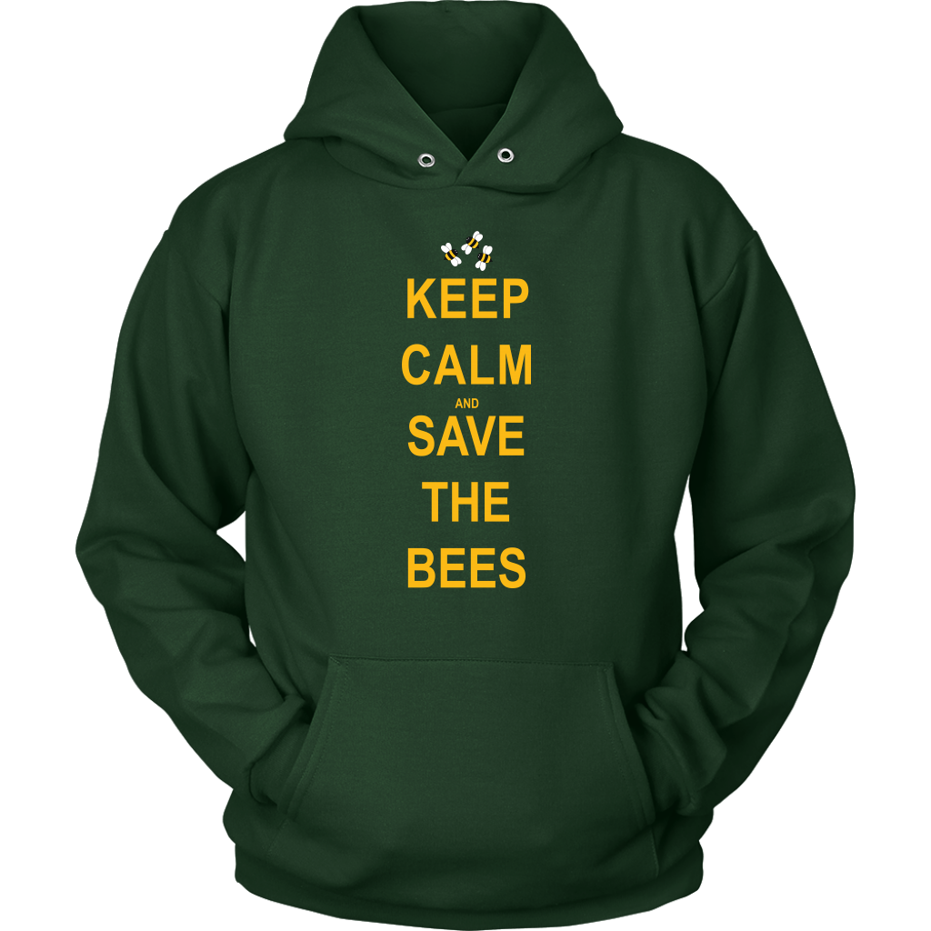 Keep Calm and Save The Bees Hoodie