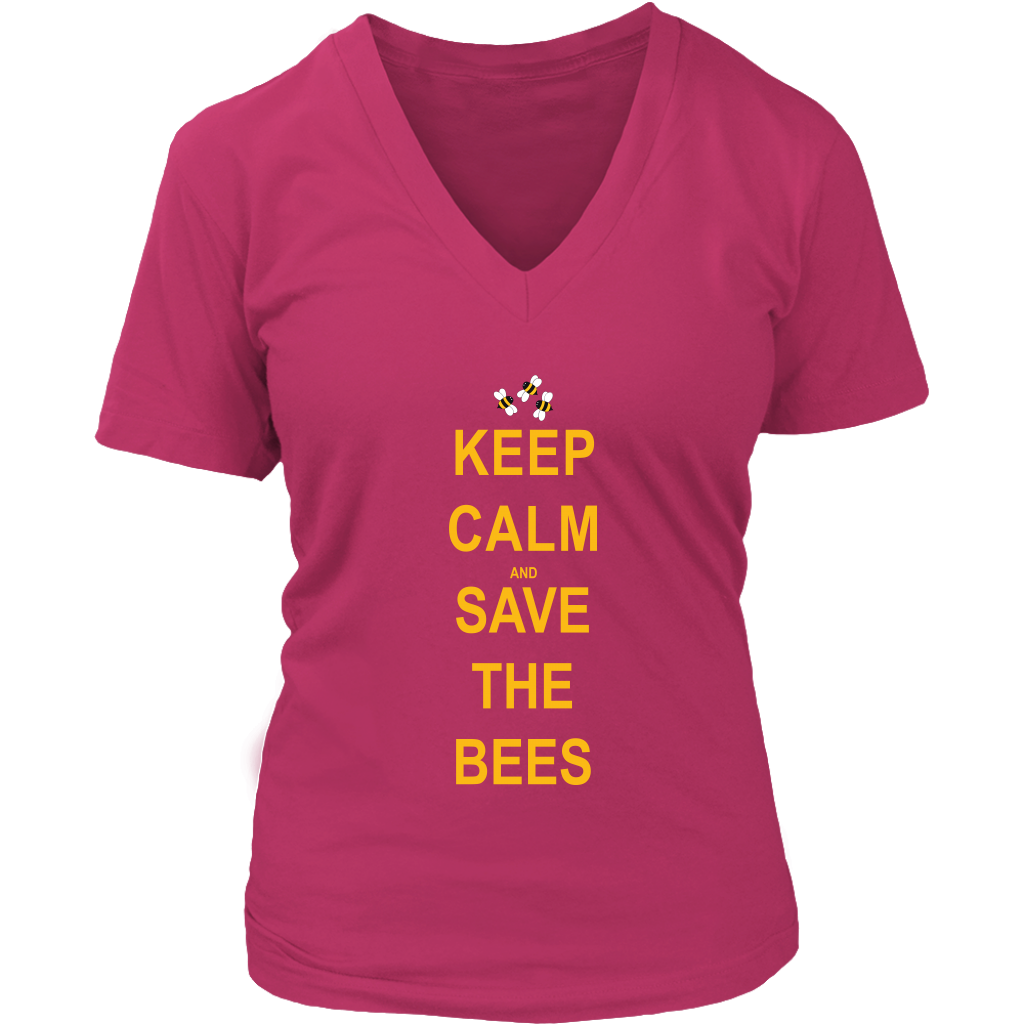 Keep Calm and Save The Bees Women's Tee
