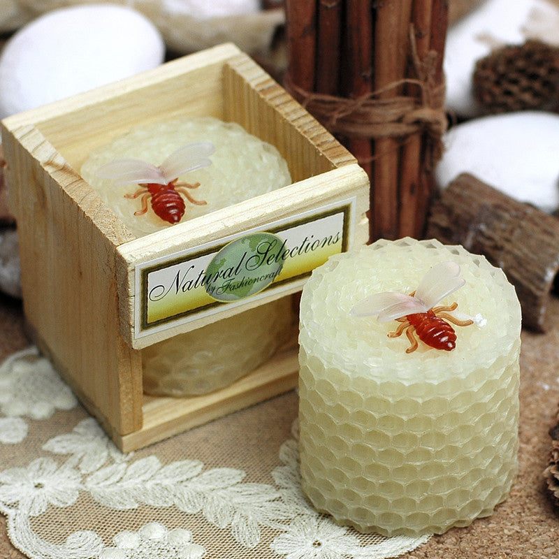 Smokeless Pure Beeswax Candle
