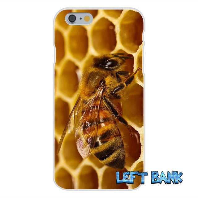 Honeycomb Soft Silicone Transparent Cover Case For iPhone 6 6S 7 7Plus