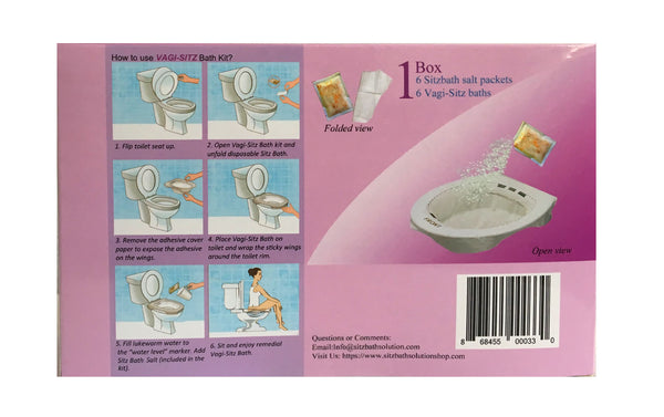 Disposable Sitz Bath Kit (Vagi-Sitz Bath)