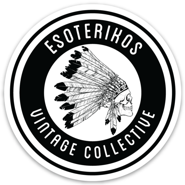 Esoterikos Vintage Collective Round Sticker