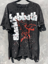 Exclusive Limited Edition Hand Painted Black Sabbath Tee