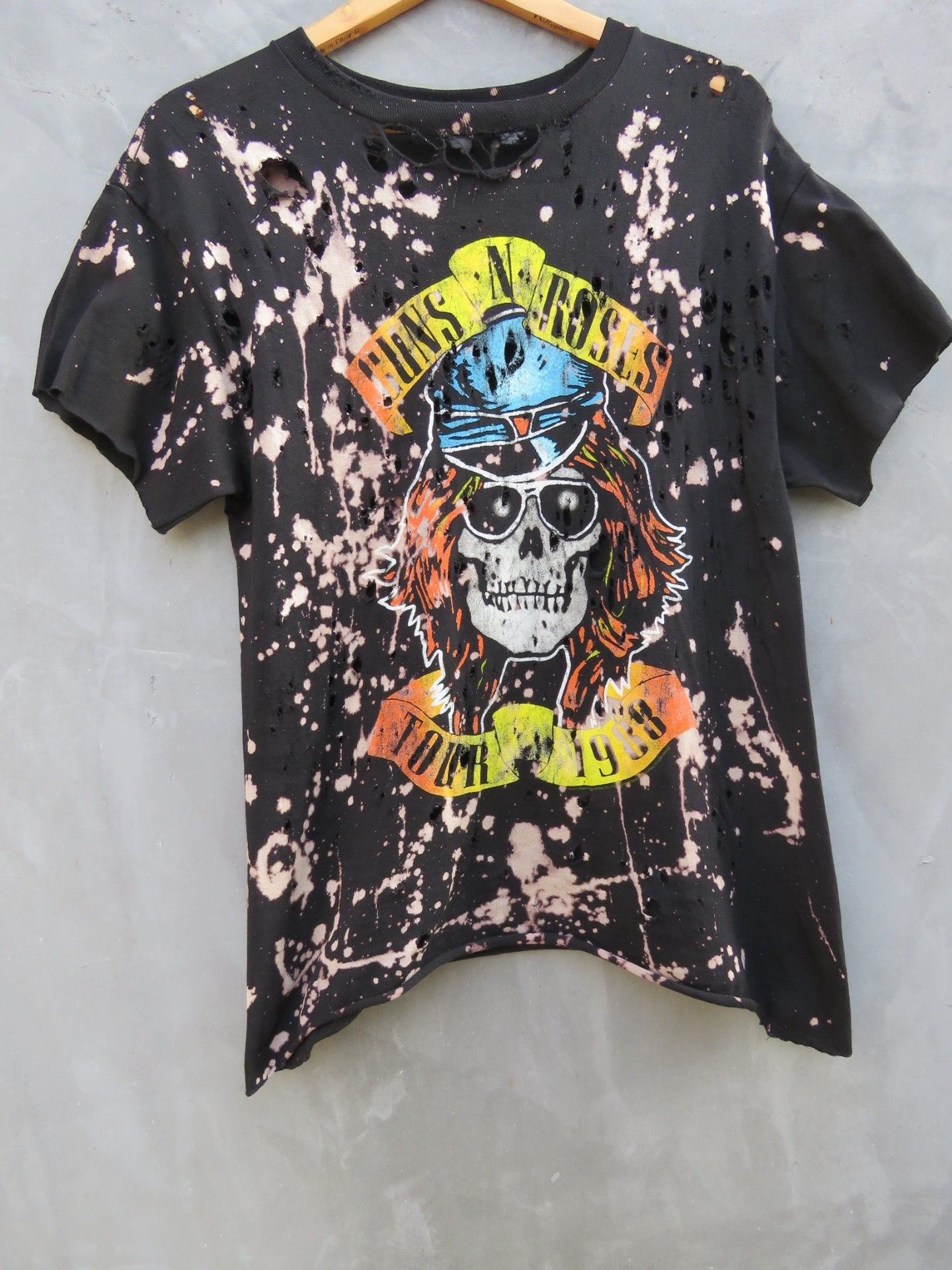 Guns N Roses Appetite for Destruction 1988 Tour Tee