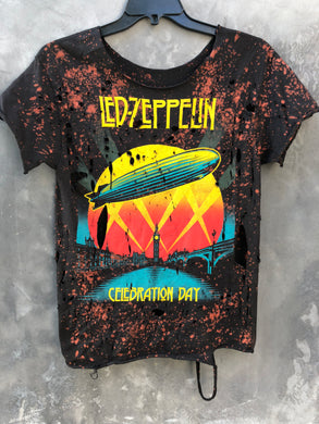 Led Zeppelin Distressed Vintage T-Shirt