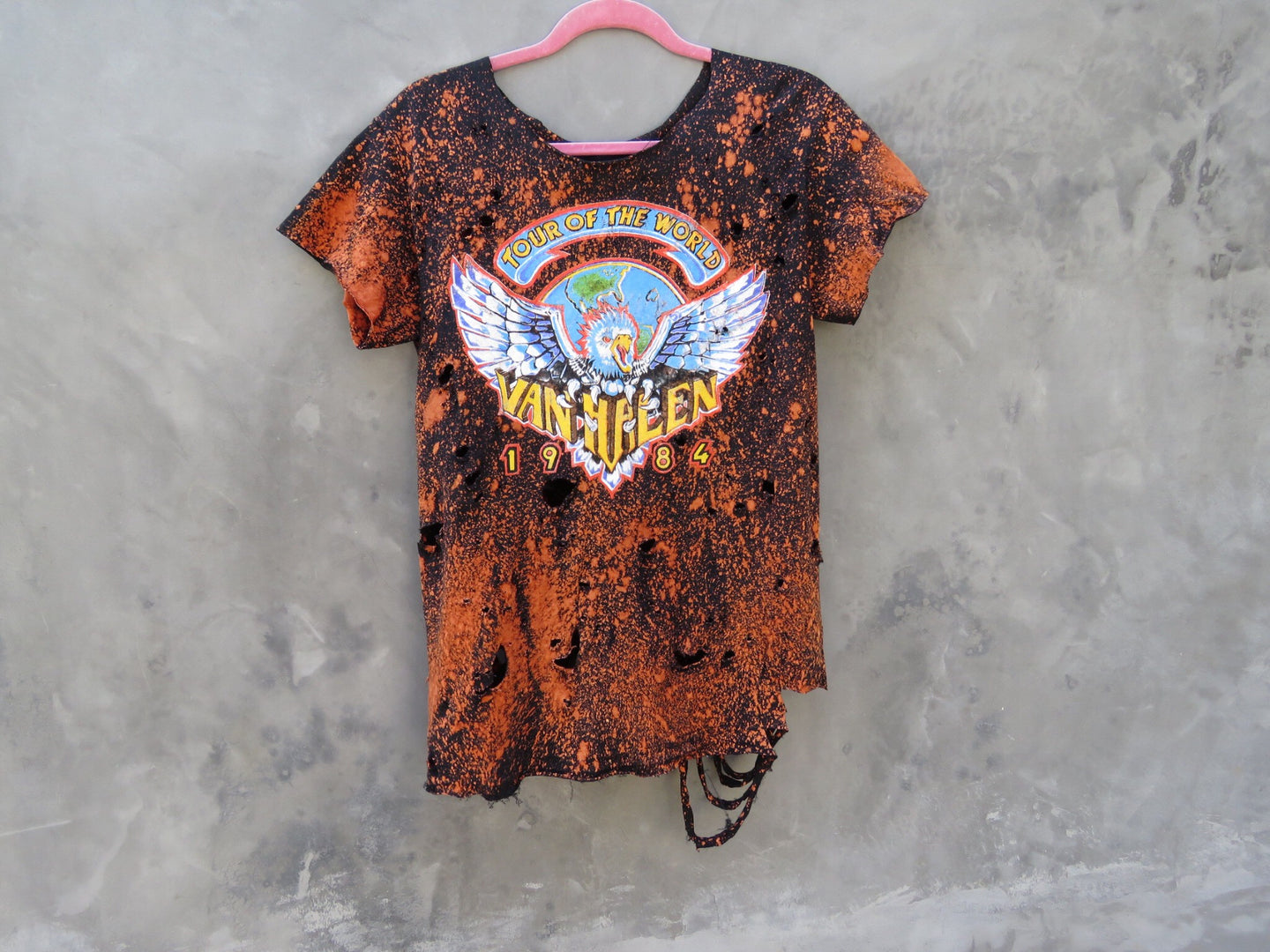 Van Halen Distressed Vintage T-Shirt