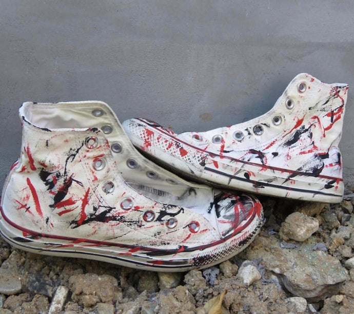 The Eso Signature Custom Chuck Taylors/Vans Also Available
