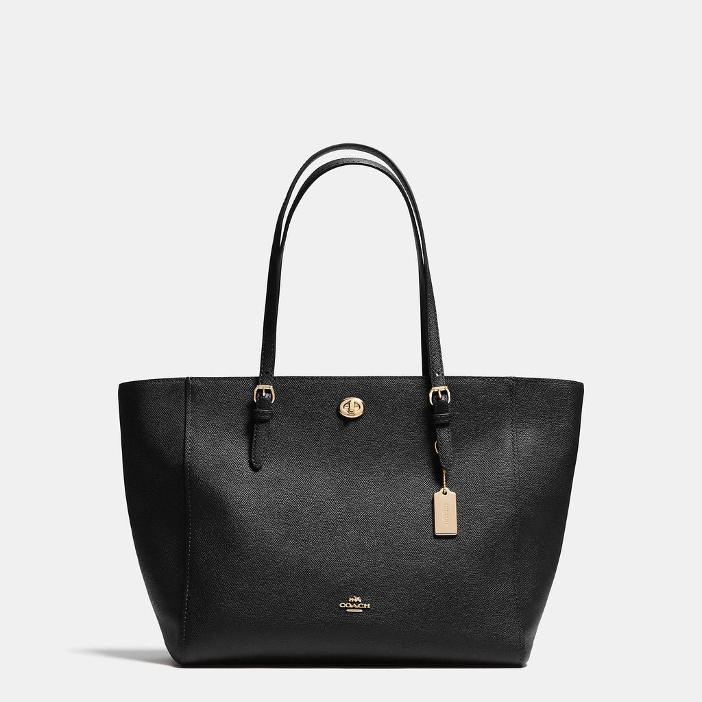 Coach Crossgrain Turnlock Tote