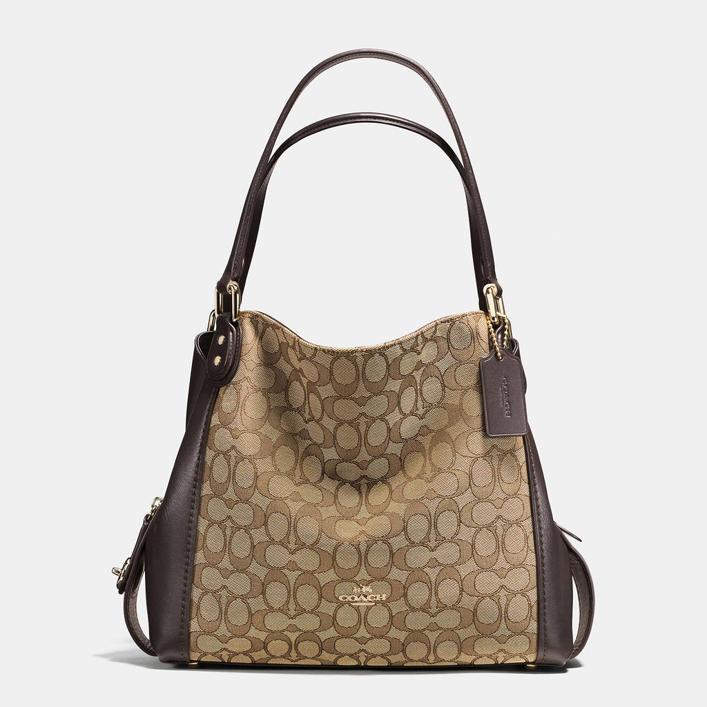 Coach-EDIE shoulder bag 31 in signature jacquard