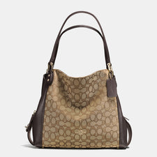 Coach-EDIE shoulder bag 31 in signature jacquard - Reluxed Luxury