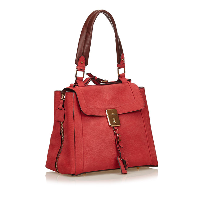 Chloé Red Nubuck Leather Darla - Reluxed Luxury