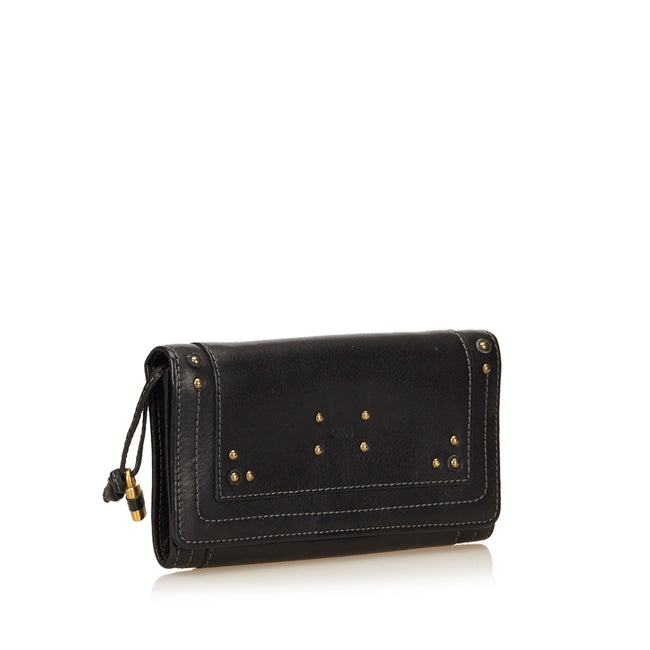 Chloé Leather Paddington Black Wallet - Reluxed Luxury