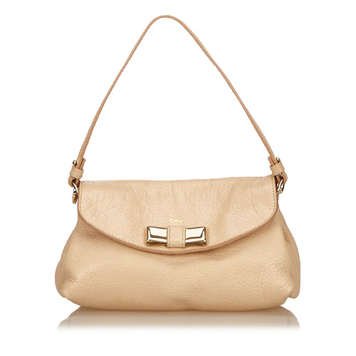 Chloé Leather Lily bag in Pink or Red