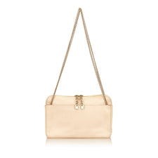 Chloé Brown/Beige Leather Shoulder Bag - Reluxed Luxury