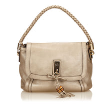 Gucci Gold Calf Leather Shoulder Bag - Reluxed Luxury