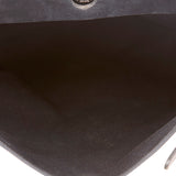 Hermes 35cm Black Canvas and Leather Herbag MM 2-in-1 Bag