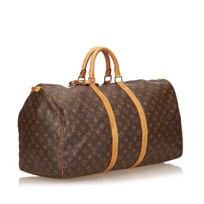 Vintage Louis Vuitton Monogram Keepall 55 Duffle Travel Bag 55 - Reluxed Luxury
