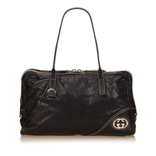 Gucci Black Double G Shoulder bag - Reluxed Luxury