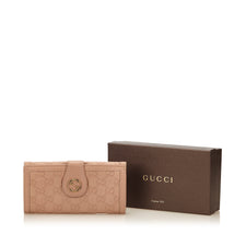 Gucci Rose Guccissima Long Wallet