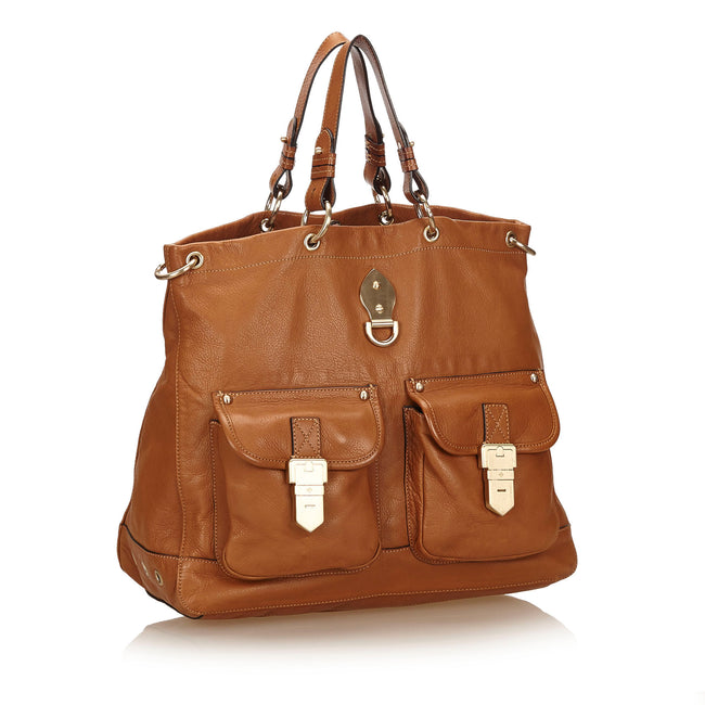Mulberry 2 Way Leather  Brown Tote Bag - Reluxed Luxury