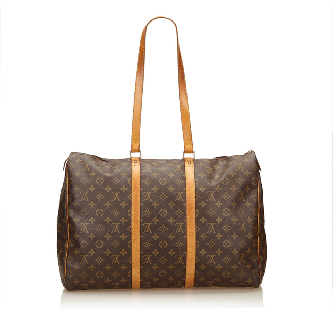 LOUIS VUITTON Monogram Canvas Sac Flanerie 50 Bag - Reluxed Luxury