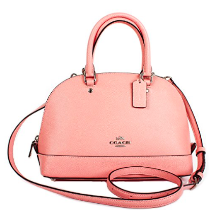 Sierra Satchel in Crossgrain Leather Crossbody bag