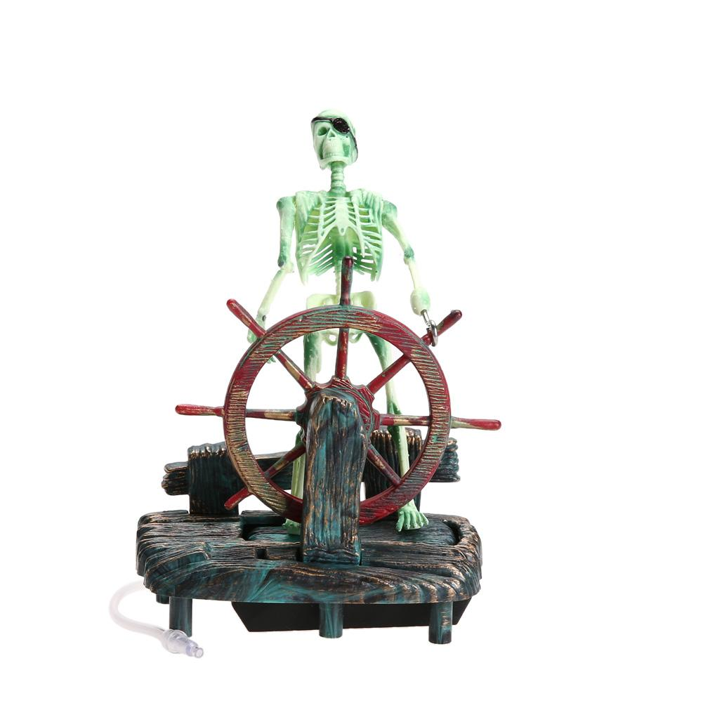 Captain Skeleton Aquarium Decorations