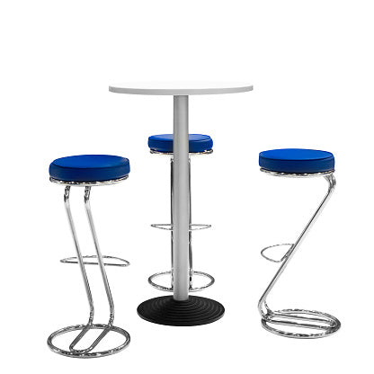Staple On Replacement Round Bar Stool Covers