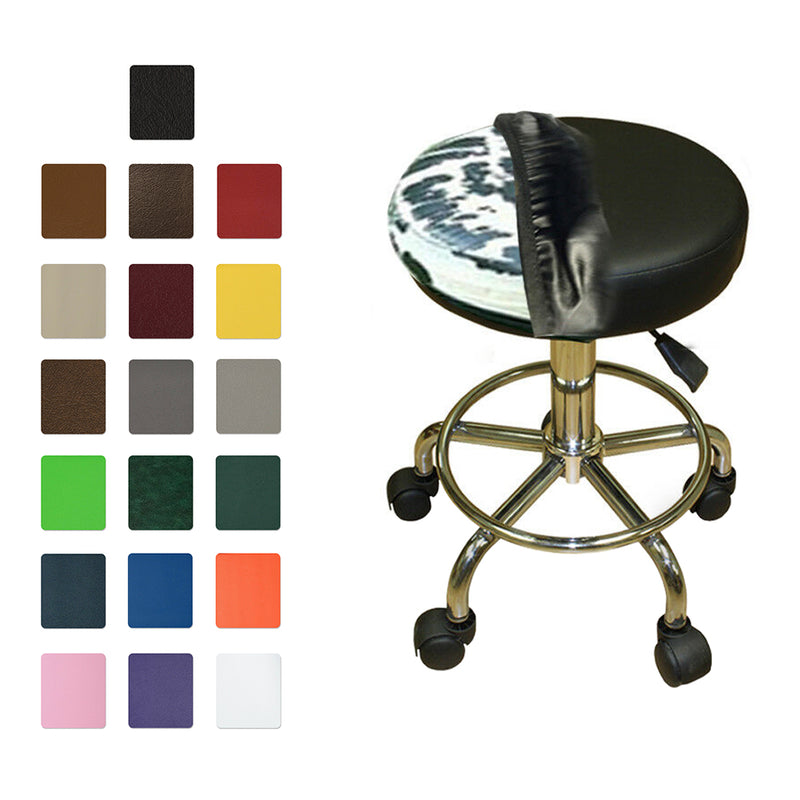 Round  Vinyl Bar Stool Covers