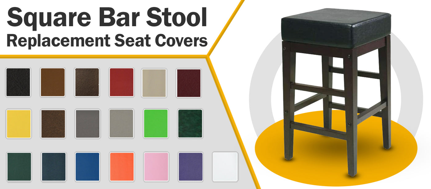 Round Bar Stool Covers