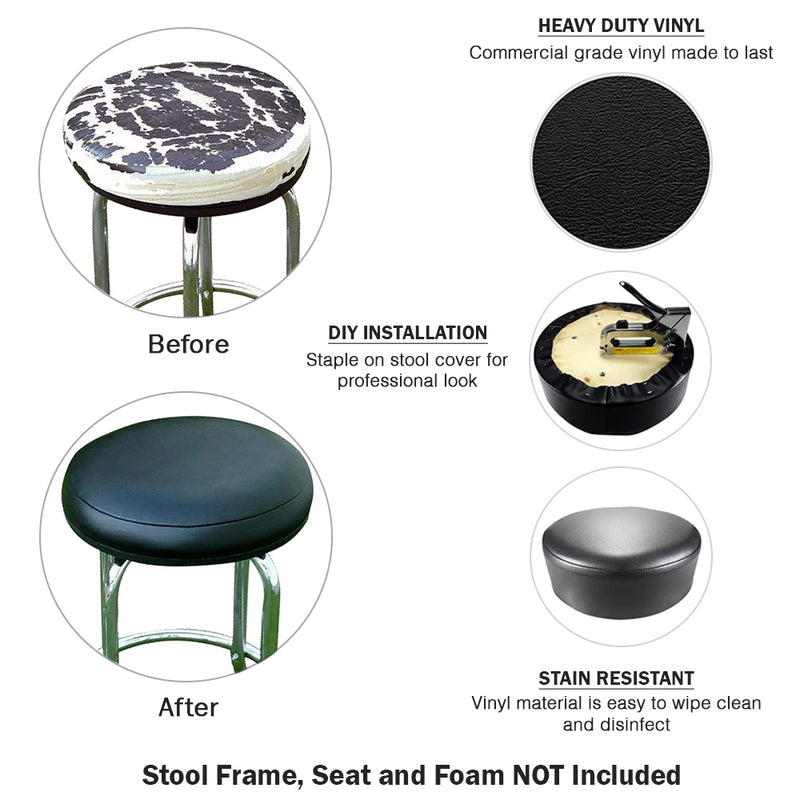 Lime Green Vinyl Bar Stool Cover Replacement