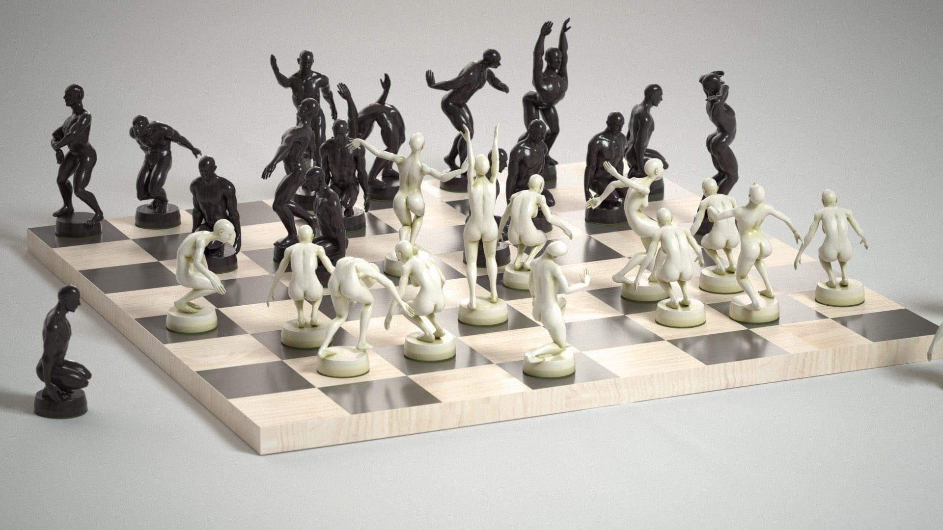 Premium Edition Chess Set