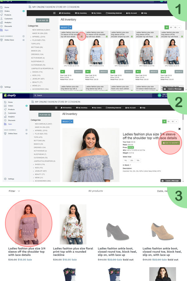 Join Dropship Program and make money – My Online Fashion Store