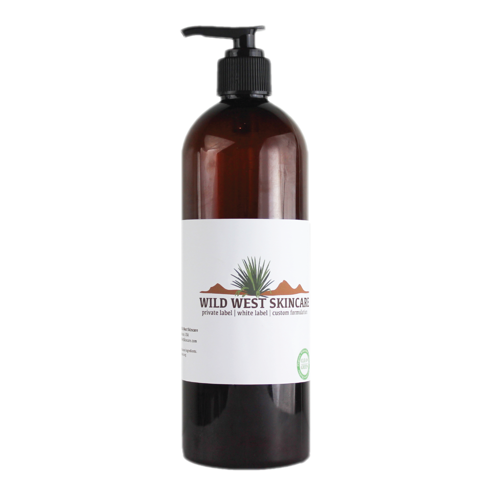 Omega-3 Hemp & Sweet Orange Face Wash 16 oz with your branded label (if you have paid for branding) (if you have paid for branding) CP101 6x3