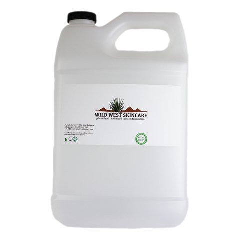 Sweet Rosemary Shine Contol Toner AG206-128 oz by weight with your branded label  6x3