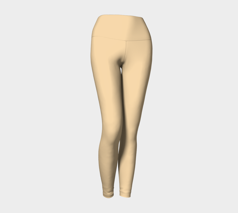 *NEW* Baby Beige Yoga Leggings