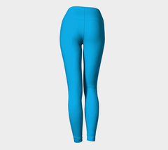 *NEW* Baby Blue Yoga Leggings - Iron Queen