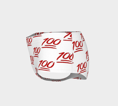 *NEW* 100 Emoji Booty Shorts - Iron Queen