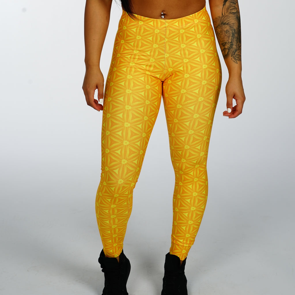 Orange Candy Leggings - Iron Queen