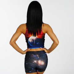 Gala Way Crop Top - Iron Queen