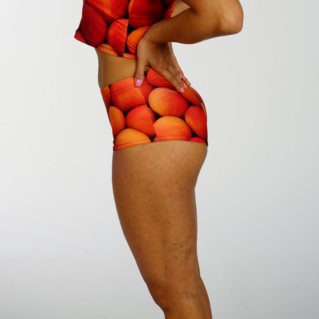 Peachy Booty Shorts - Iron Queen